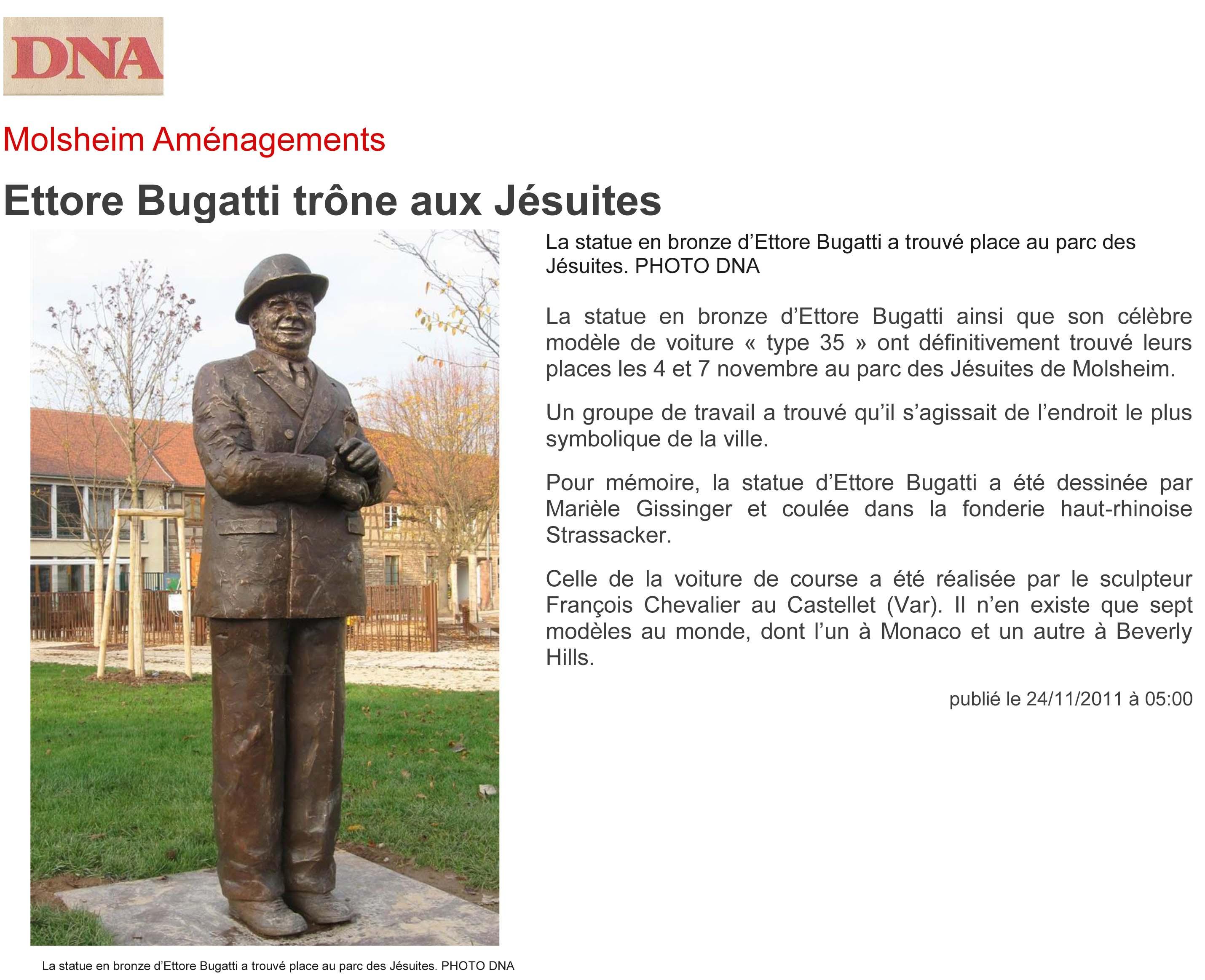 Artiste Alsace - sculpture - bronze