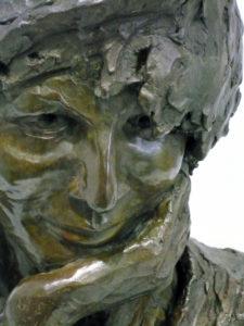 art-funeraire- tombe personnalisee- sculpture - bronze