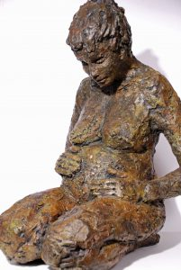 Sculpture-Bronze-Maternite