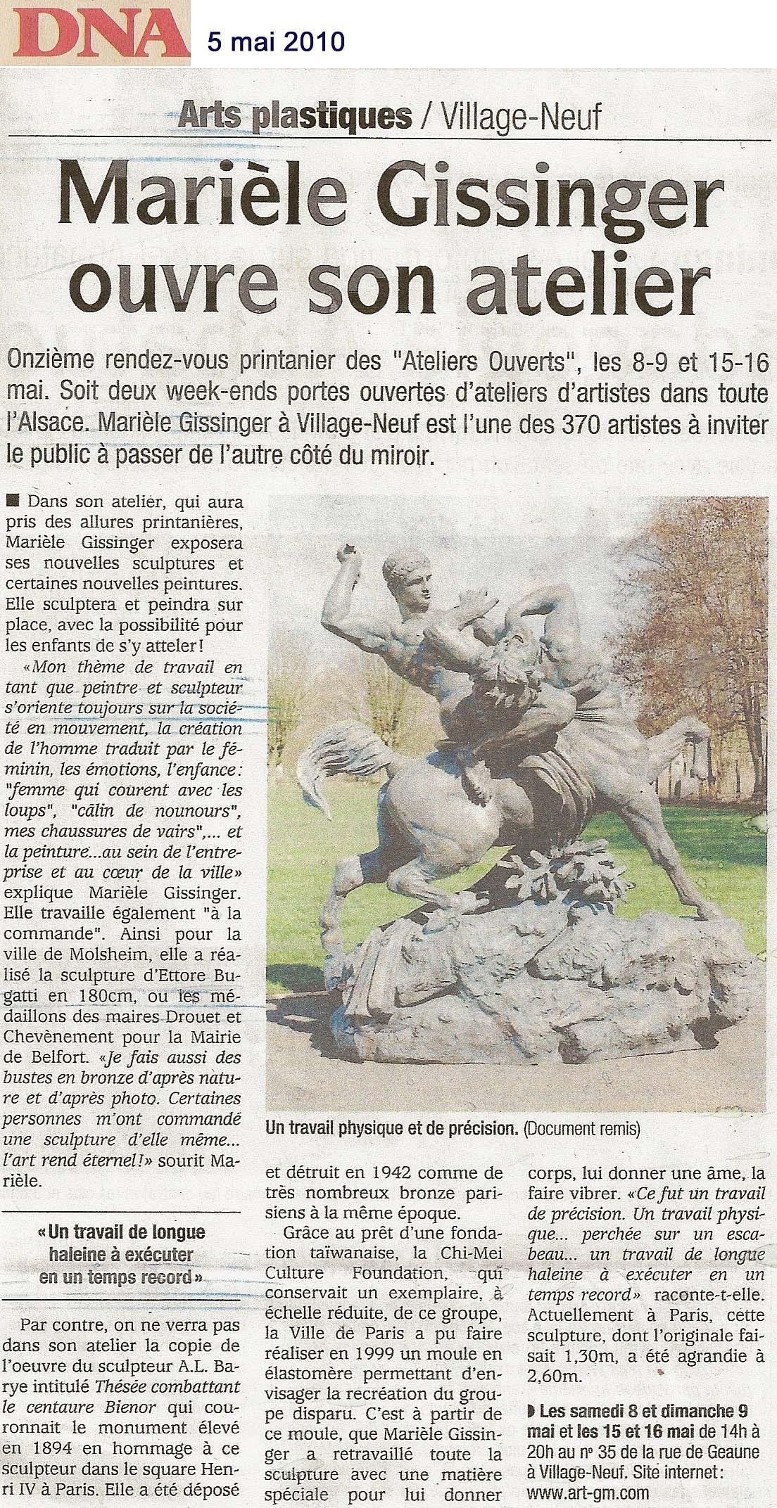 Fondation Chi Chei Taïwan - square Henri IV - Paris- Gissinger Mariele – Sculpture – Bronzes – Modelage – Terre – Ton - Céramique – Porcelaine – Porcelain – Artiste - Art-gm – Alsace - France
