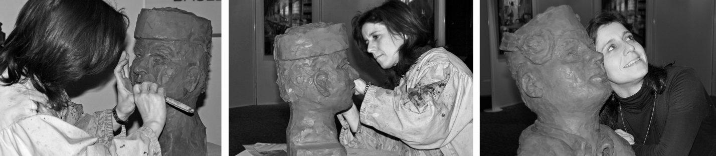 Buste-Medailles- Gissinger Mariele – Sculpture – Bronzes – Modelage – Terre – Ton - Céramique – Porcelaine – Porcelain – Artiste - Art-gm – Alsace - France