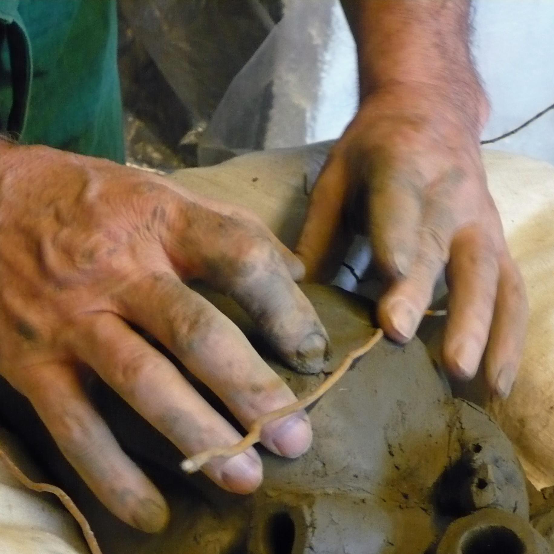 Atelier creatif - Atelier Modelage - Gissinger Mariele – Sculpture – Bronzes – Modelage – Terre – Ton - Céramique – Porcelaine – Porcelain – Artiste - Art-gm – Alsace - France