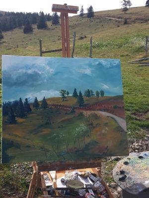 Gissinger-Mariele-Peinture-huile-Peinte-Artiste-Art-gm-Alsace-France-Vosges-Ballon d'alsace-Steinlebach