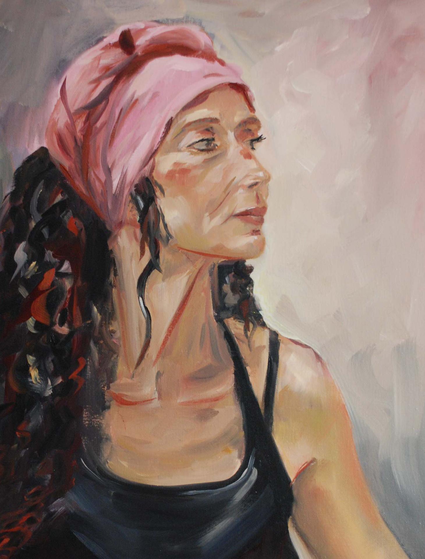 Portrait-Gissinger-Mariele-Peinture-huile-Peinte-Artiste-Art-gm-Alsace-France