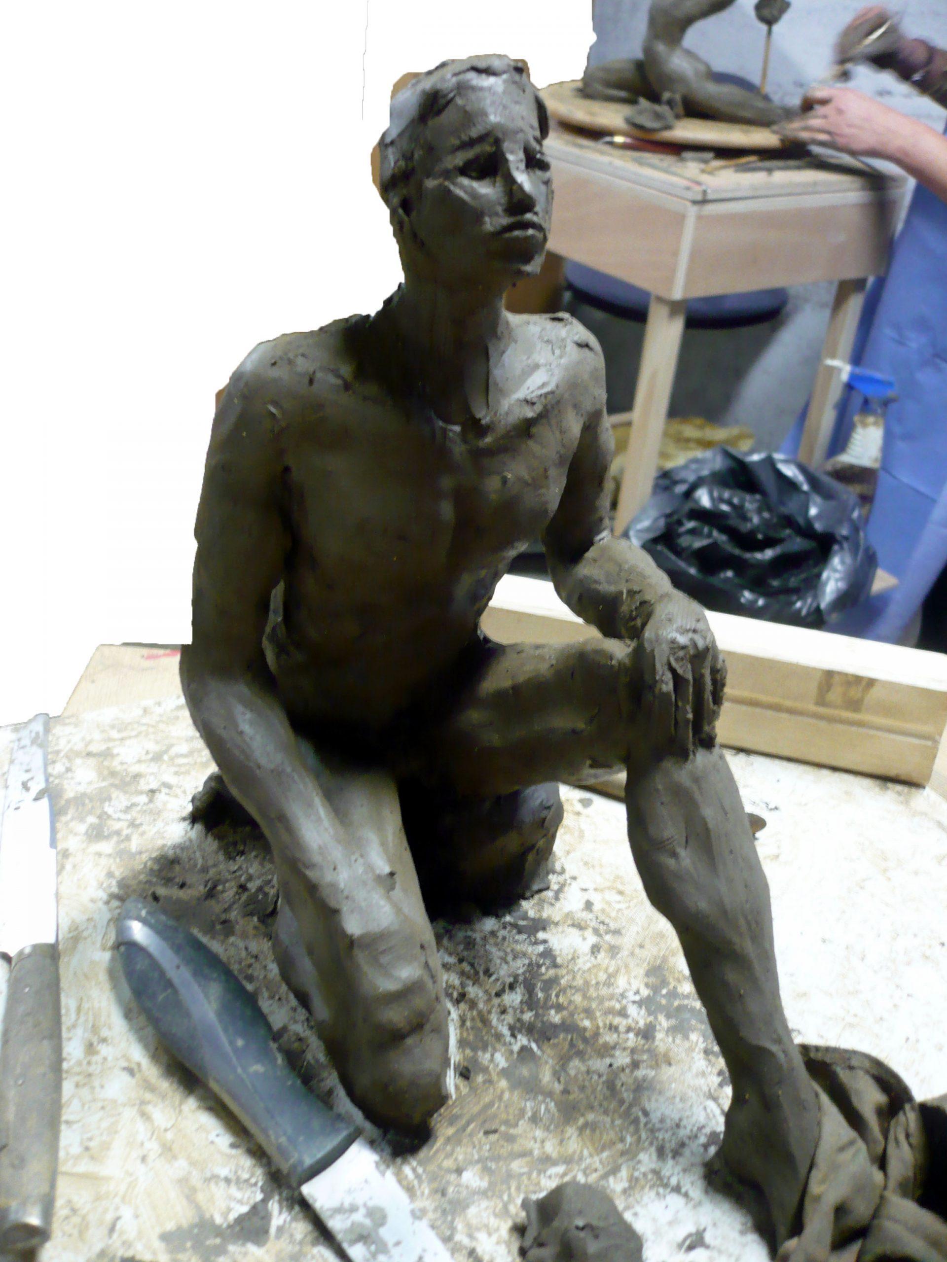 Atelier creatif - Atelier Modelage - Gissinger Mariele – Sculpture – Bronzes – Modelage – Terre – Ton - Céramique – Porcelaine – Porcelain – Artiste - Art-gm – Alsace – France