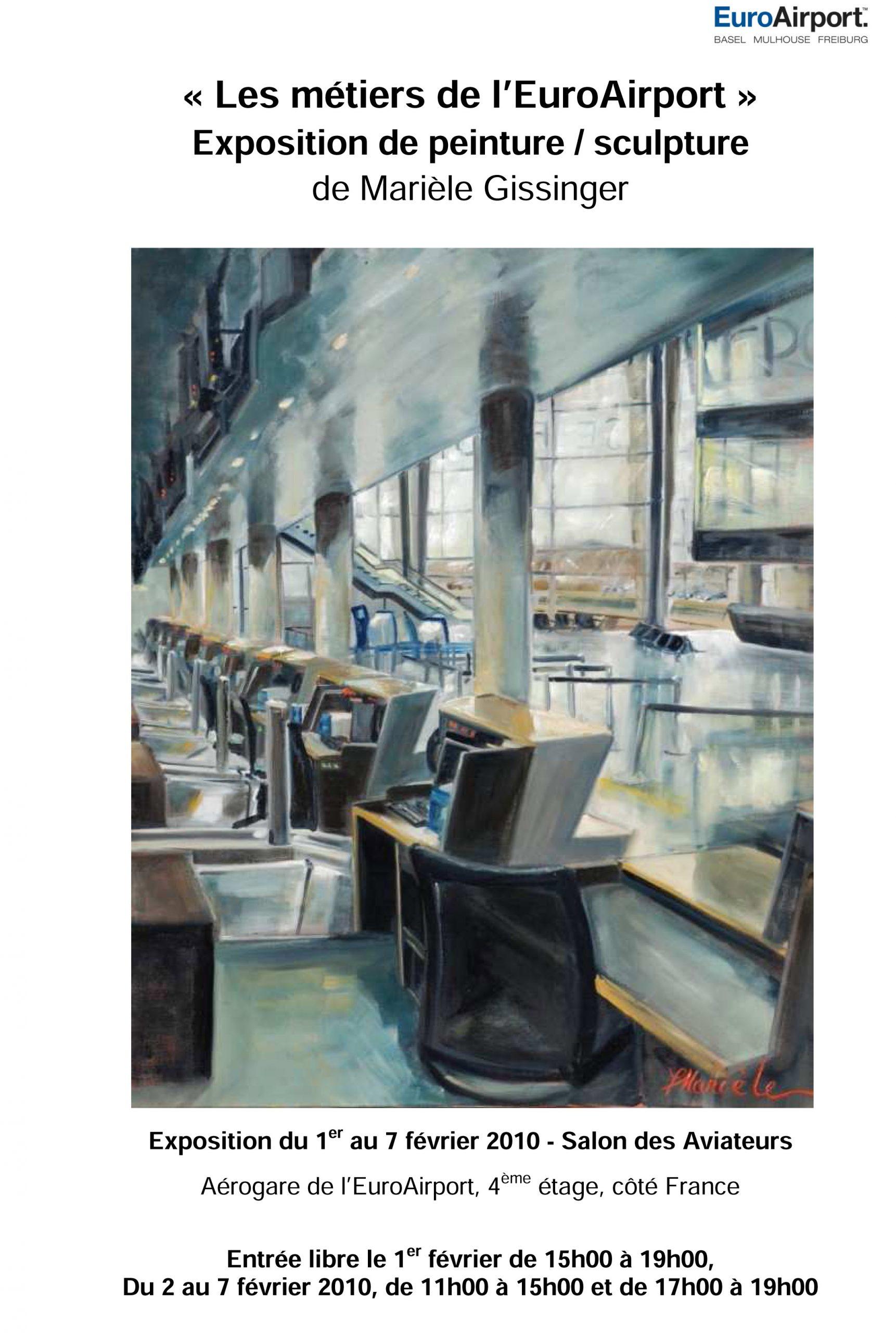 Gissinger-Mariele-Peinture-huile-Peinte-Artiste-Art-gm-Alsace-France– EuroAiport-Basel – Bâle – Freibourg - Mulhouse
