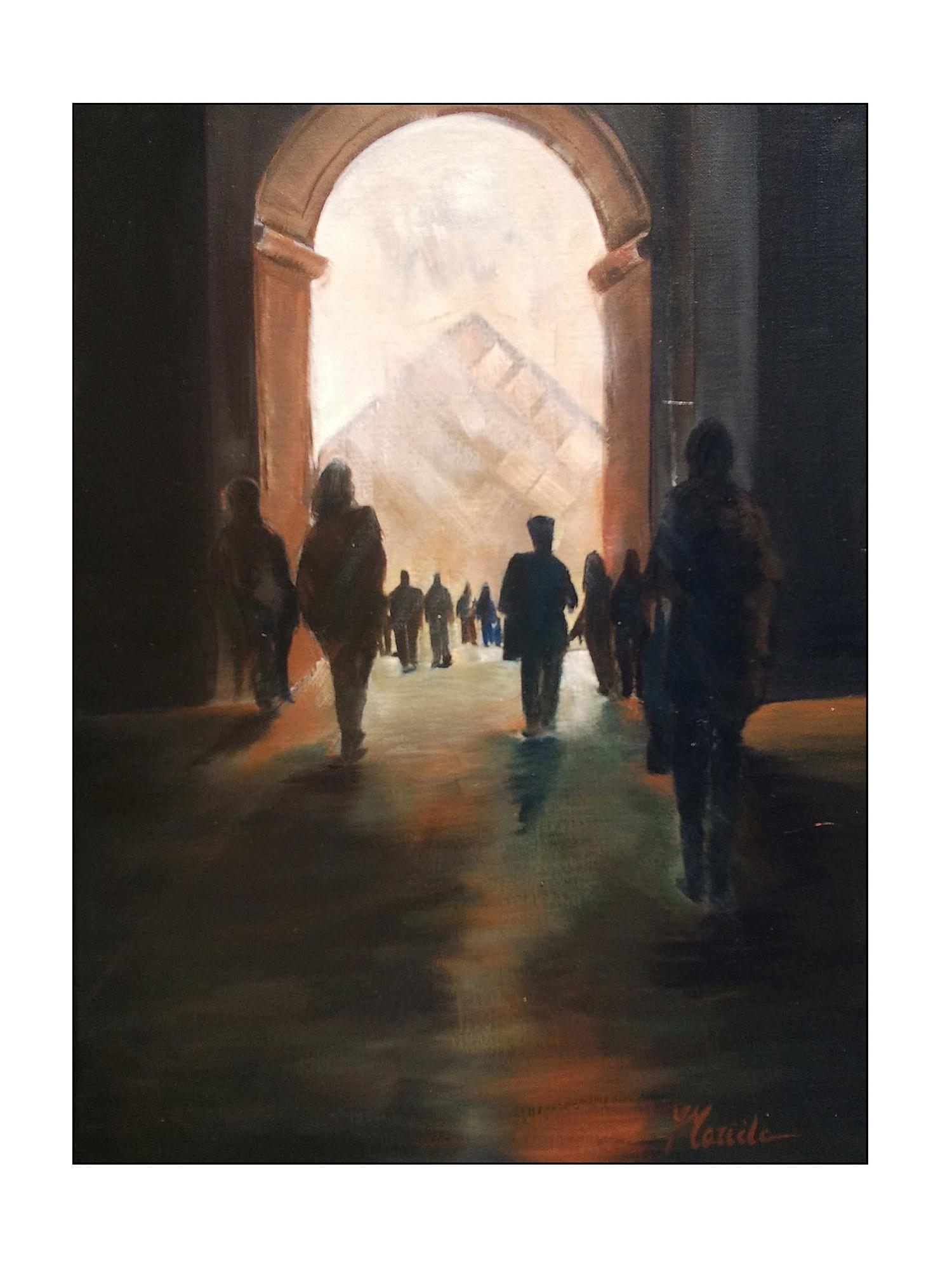 Gissinger-Mariele-Peinture-huile-Peinte-Artiste-Art-gm-Alsace-France– Le-Monde – salon automne – Paris – préfecture paris-ile de France