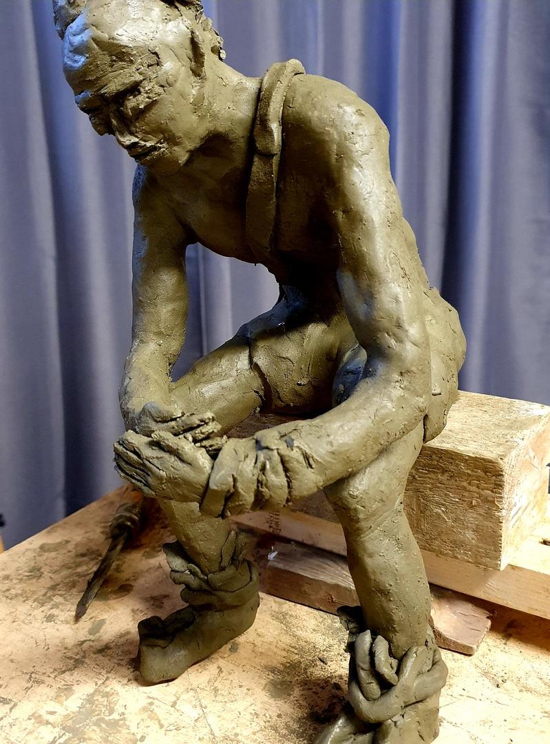 Atelier creatif - Atelier Modelage - Gissinger Mariele – Sculpture – Bronzes – Modelage – Terre – Ton - Céramique – Porcelaine – Porcelain – Pièces uniques - Artiste - Art-gm – Alsace – France